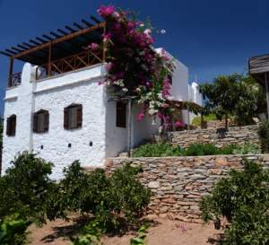 Stone cottage house in Datca